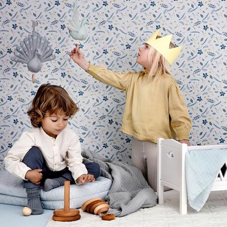 CamCam® Posteljica za lutke Harlequin Doll's Bed Grey