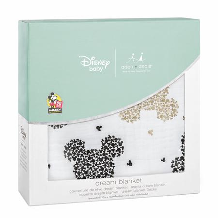 Aden+Anais® Bombažna odejica Disney Mickey's 90th 120x120