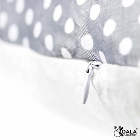 Slika Koala Babycare® Blazina za nosečnice Hug+ Comfy Grey