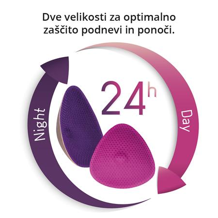 Cache Coeur® Dnevne pralne blazinice za dojenje Curve 4kosi