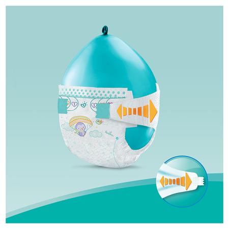 Pampers® Pleničke Active Baby Dry MP vel. 6 (13-18 kg) 124 kosov