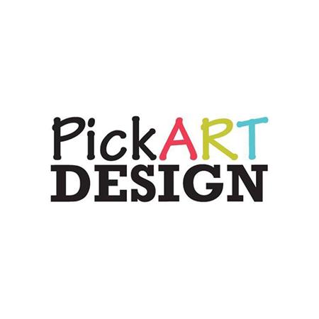 Slika Pick Art Design® Stenske nalepke Srčki Pastelno Roza