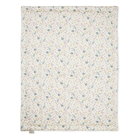 Slika CamCam® Odeja 90 x 120 cm Pressed Leaves Blue