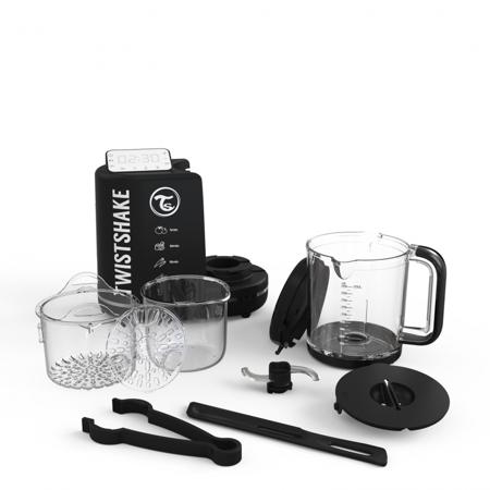Twistshake® Kuhalnik 6v1 Črn