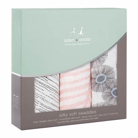 Picture of Aden+Anais® Silky Soft Swaddles 3-pack Getaway (120x120)