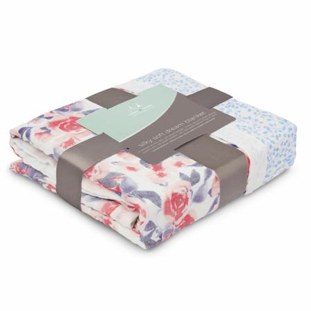 Picture of Aden+Anais® Classic Dream Blanket Watercolour Garden (120x120)