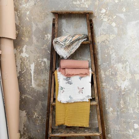 Slika Elodie Details® Mehka bombažna odejica Gold