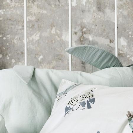 Slika Elodie Details® Posteljnina Mineral Green 100x130