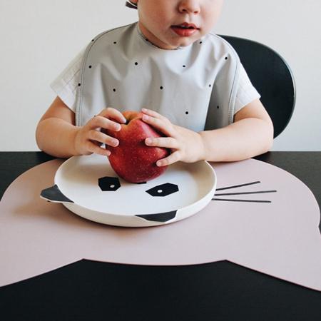 Slika Liewood® Silikonska podloga za hranjenje Cat Rose