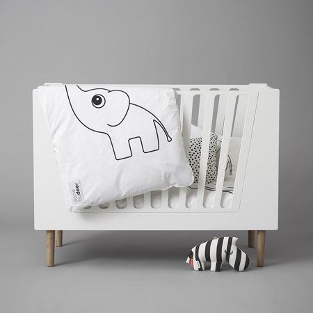 Picture of Done by Deer® Baby Cot 70x140 cm