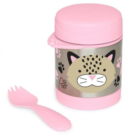 Picture of Skip Hop® Insulated Little Kid Food Jar Leopard