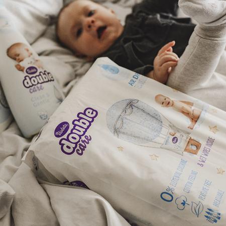 Violeta® Plenice Double Care Cotton Touch Junior+ (16+ kg) 32 kosov