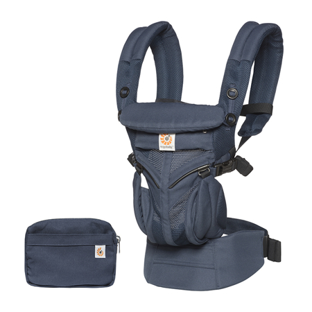 Slika Ergobaby® Nosilka Omni 360 Cool Air Mesh Midnight Blue