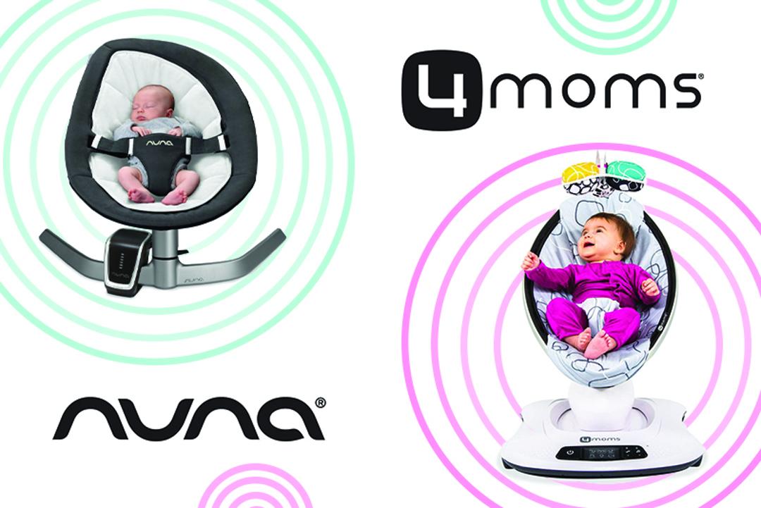 Ležalnik Nuna Leaf Curv ali MamaRoo 4.0?