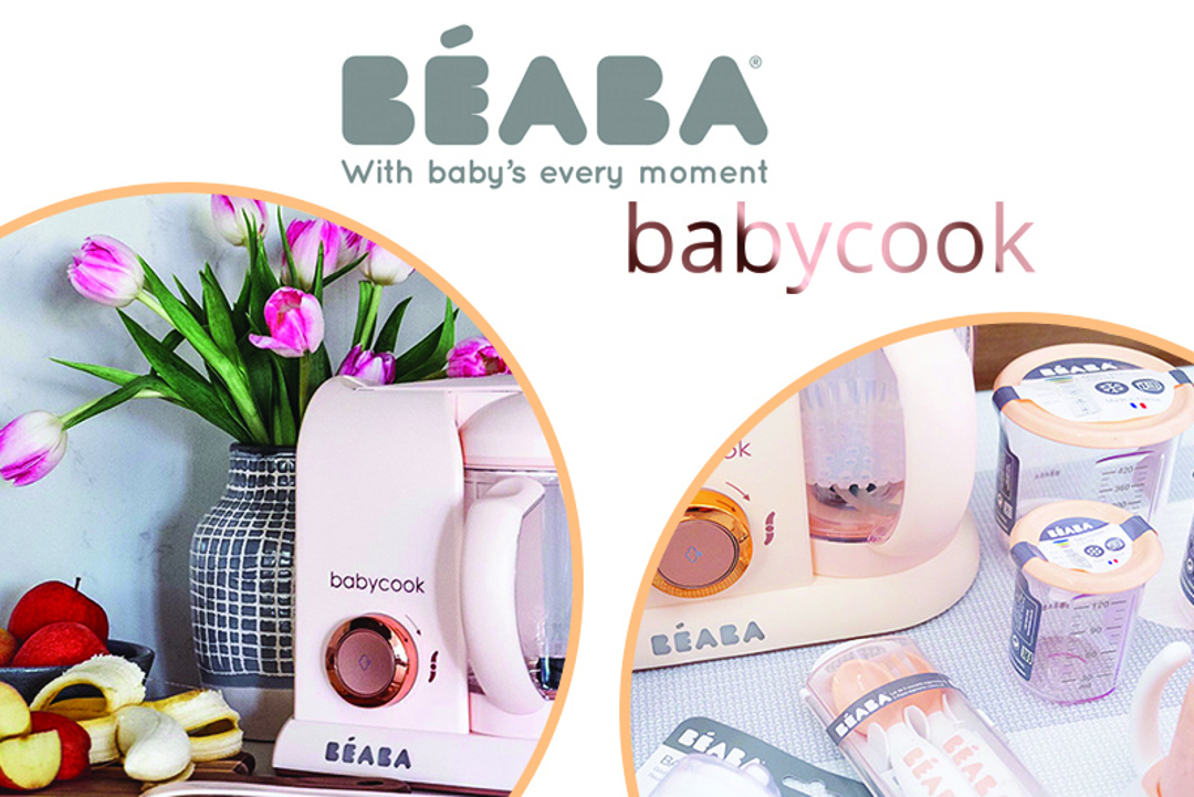 Zdravi in okusni recepti s kuhalnikom Beaba Babycook