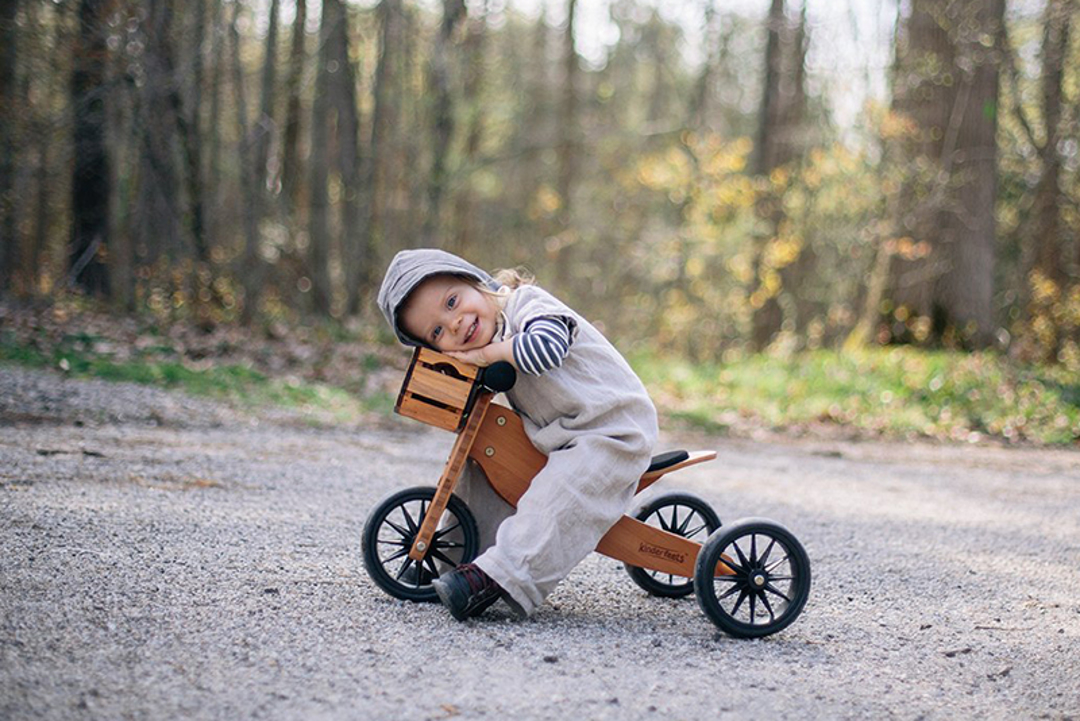 Kinderfeets poganjalci, naj se strast do koles začne takoj