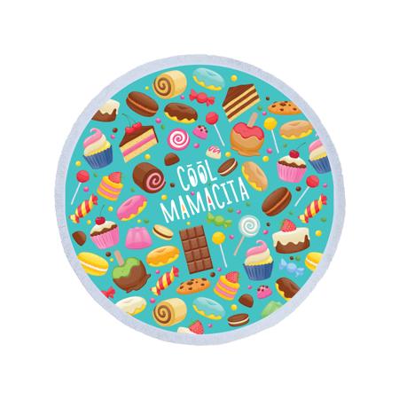 Immagine di Olala® Asciugamano rotondo Cool Mamacita