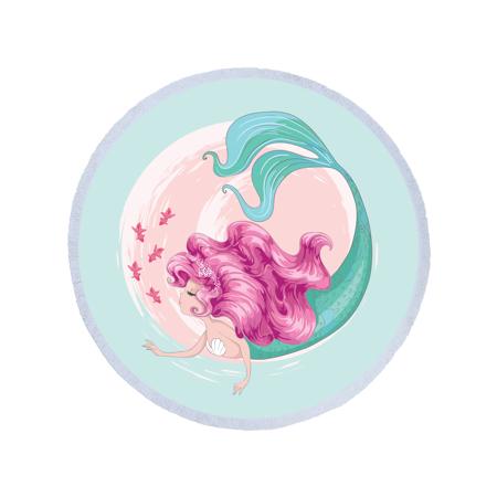 Slika Olala® Okrogla brisača Mermaid