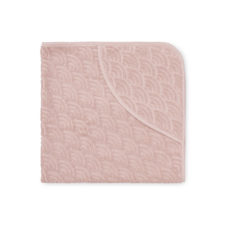 Picture of CamCam® Baby Hooded Towel - Blossom Pink