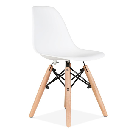 Slika EM Furniture Eiffel Otroški stolček White