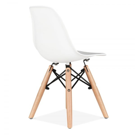 EM Furniture Eiffel Otroški stolček White