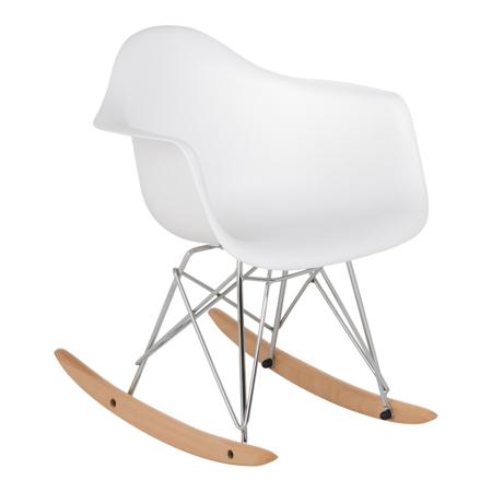 Slika EM Furniture RAR Otroški gugalnik White