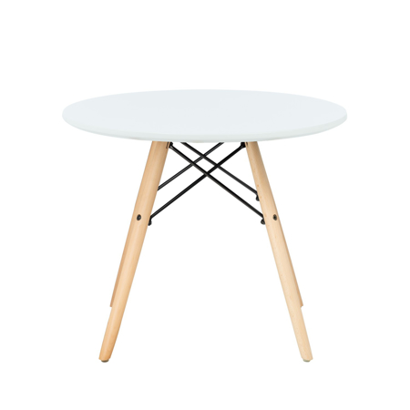 EM Furniture Otroška mizica White