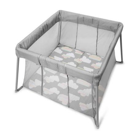 Slika Skip Hop®  Otroška prenosna posteljica in stajica Grey Clouds
