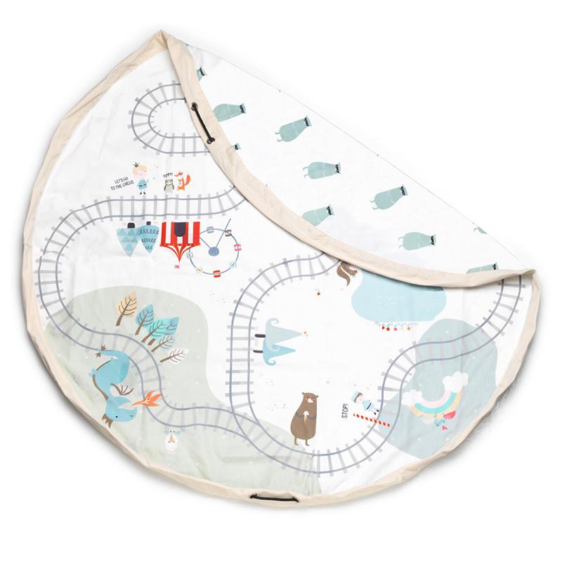 Play&Go® Vreča in podloga Trainmap Bears