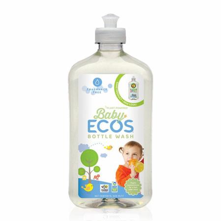 Slika ECOS® Naravno čistilo za otroške stekleničke 500ml