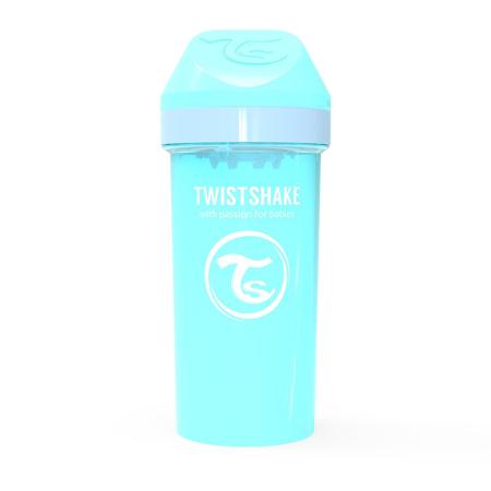 Slika Twistshake® Lonček Kid Cup 360ml (12+m) - Pastel Blue