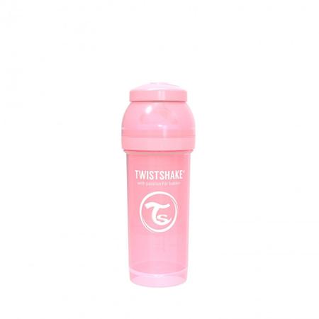 Slika Twistshake® Steklenička Anti-Colic 260ml Pastel (2+m) - Pastel Pink