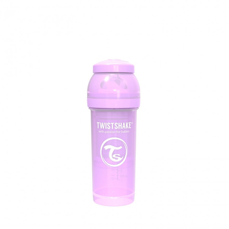 Picture of Twistshake Anti-Colic Bottle 260ml (2+M) - Pastel Purple