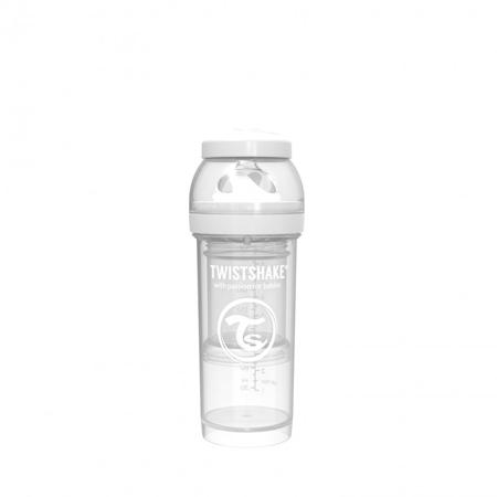 Twistshake® Steklenička Anti-Colic 260ml Pastel (2+m) - White