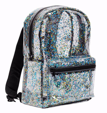 Immagine di A Little Lovely Company® Zaino Glitter transparent/black