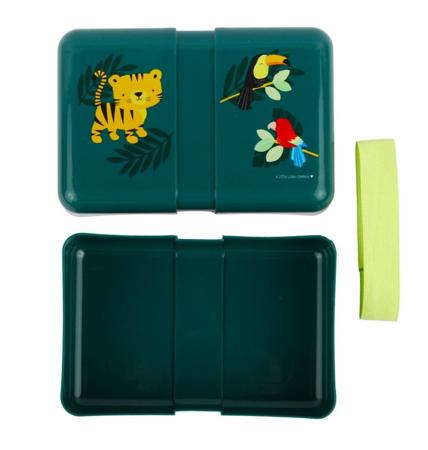 Slika A Little Lovely Company® Škatlica za malico Jungle Tiger