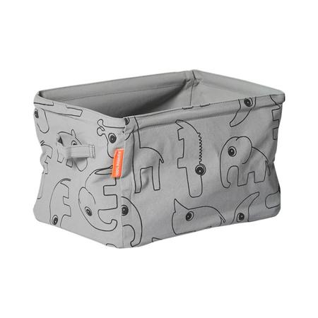 Done by Deer® Obojestranska košara za shranjevanje - Siva