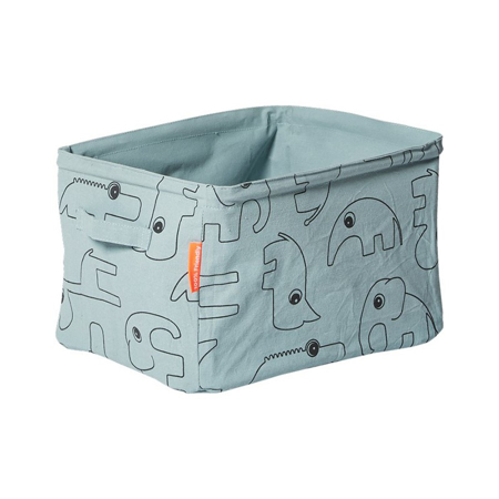 Done by Deer® Obojestranska košara za shranjevanje - Svetlo Modra