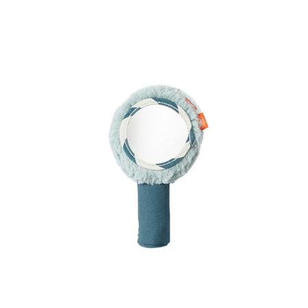 Done by Deer® Ropotuljica in ogledalo - Svetlo Modra