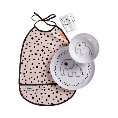 Done by Deer® Set za hranjenje Happy Dots Powder