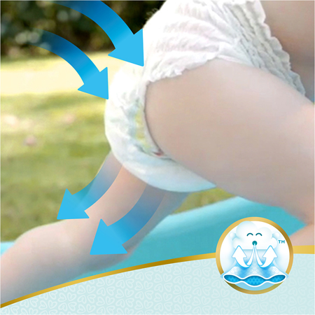 Picture of Pampers® Pants Diapers Premium Care Size 5 (11-18 kg) 34 Pcs.