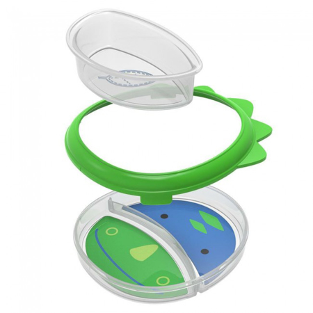 Picture of Skip Hop®  Smart Serve Plate & Bowl Dinosaur