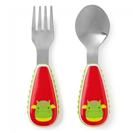 Slika Skip Hop® Otroški jedilni pribor Zmaj