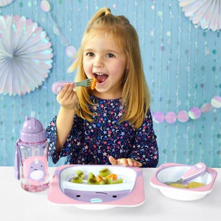 Slika Skip Hop® Otroški jedilni pribor Kit enorog