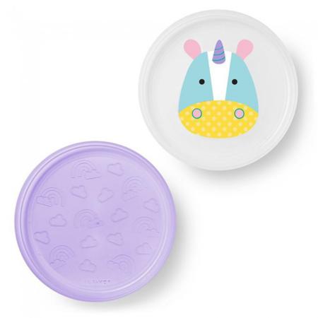 Picture of Skip Hop® Smart Serve Non-Slip Plates Unicorn