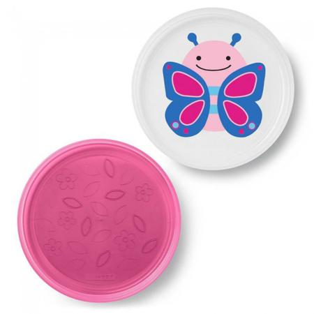 Immagine di Skip Hop® Set piatti antiscivolo Farfalla