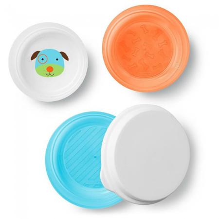 Picture of Skip Hop® Smart Serve Non-Slip Bowls Puppy