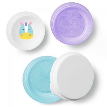 Immagine di Skip Hop® Set 3 piatti antiscivolo Unicorno