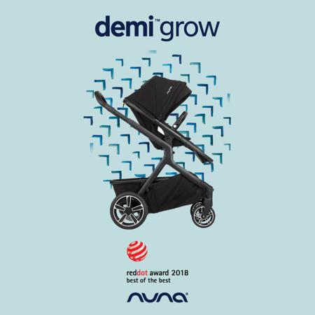 Nuna® Voziček Demi Grow Oxford Lim. Ed.