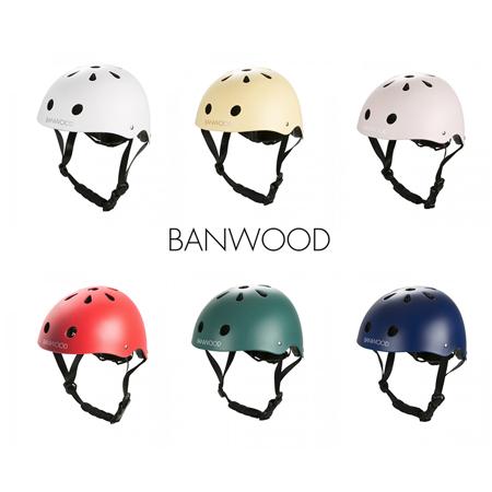 Slika BANWOOD® Čelada za poganjalec  3/7 (50-54cm) Red